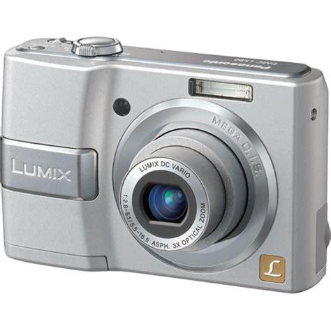 panasonic lumix dmc ls80 digital silver dmc ls80s b h