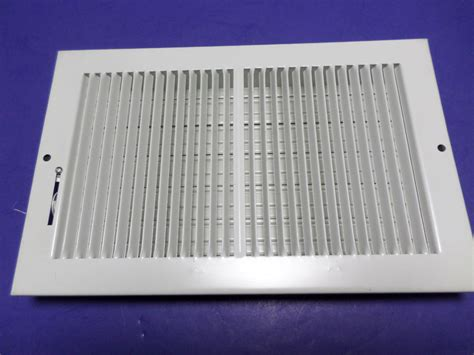11 w quot x 7h quot adjustable air supply diffuser hvac vent duct cover grille white ebay