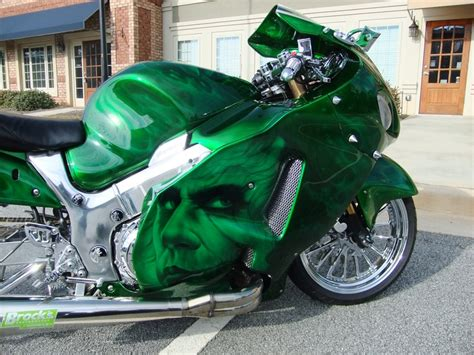 airbrushed motocross airbrushed joker motorcycle side air brush art