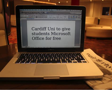 Microsoft Office For Students Free by Cardiff Uni To Give Students Microsoft Office For Free