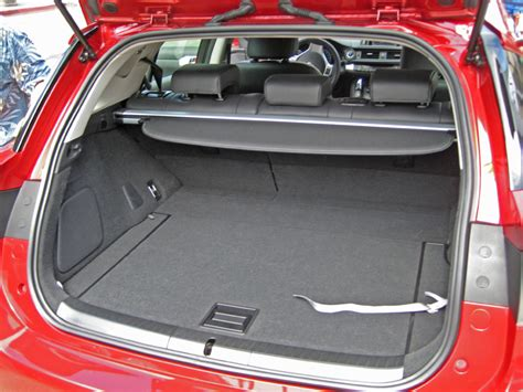 lexus ct200h trunk 2011 lexus ct 200h prototype cargo space seats up photo 12