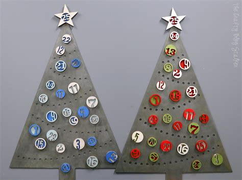 christmas tree advent countdown the crafty blog stalker