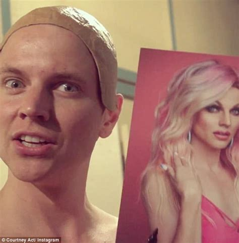 courtney act hair tutorials drag queen shane courtney act jenek surfaces on tinder
