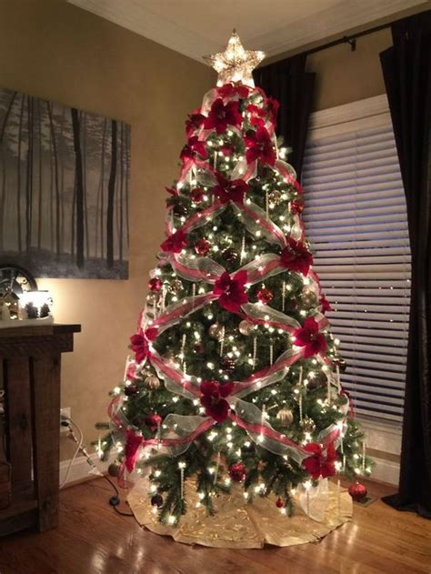 photo of the most beautifully decorated christmas tree are their trees beautiful by using flowers barnorama
