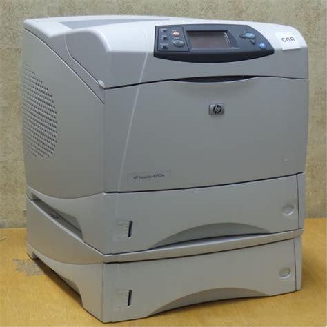 Printer Hp Laserjet Network hp laserjet 4250tn monochrome network laser printer