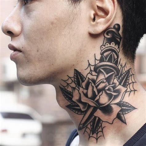 best neck tattoos 125 top neck designs this year