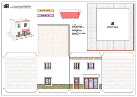 Papier De Maison by Maquette Maison En Papier Avie Home