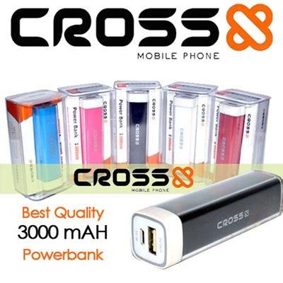 Power Bank Cross 3000mah powerbank cross 3000mah kode produk mh021