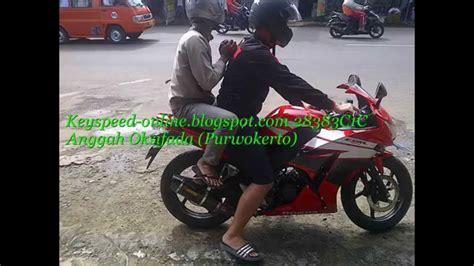 Rr Mono Akrapovic Layang Carbon knalpot cbr 150r lokal akrapovic carbon layang by key speed konsumen