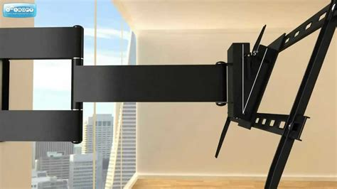 tv swing double arm articulating wall mount for 37 quot to 64 quot flat