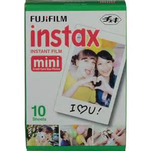 used fujifilm instax mini instant color 10 b h