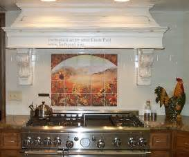 Country Kitchen Backsplash Tiles Modern Kitchens Splash Back Home Garden Design