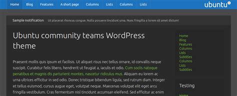 wordpress theme generator ubuntu a wordpress theme for ubuntu community teams it s free