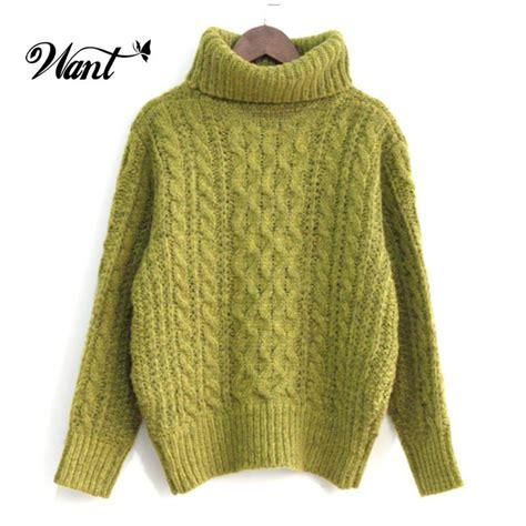 7 Cutest Womens Sweaters by Want Winter Sleeve Oversized Turtleneck Sweater