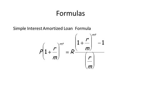 house loan formula annuities and amortization ppt download