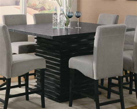 Granite Dining Table And Chairs Granite Dining Table And Luxurious Atmosphere At Home Traba Homes