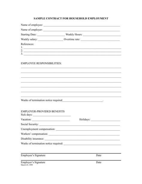 free termination letter templates employee employment termination letters 10 free word pdf excel