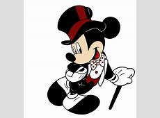Mickey Mouse clipart groom - Pencil and in color mickey ... Free Clipart Bride Silhouette