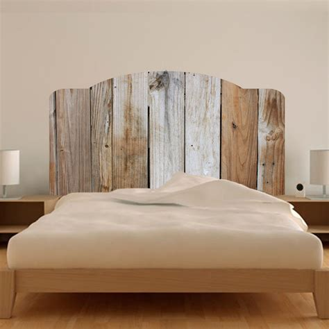 Headboard Mural by Rustic Bed Headboard Wall Mural Decal Bed Modern
