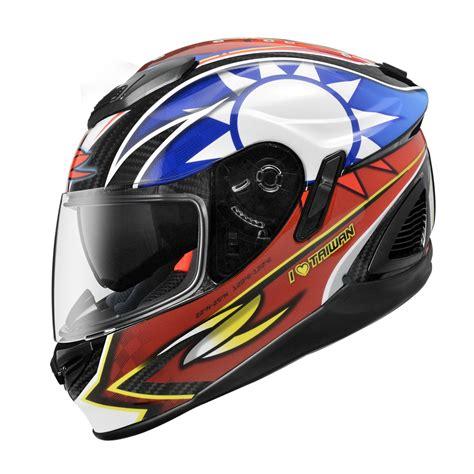 Helm Zeus Zs 1600 zeus 碳纖全罩安全帽 zs 1600 國旗色塗裝發表