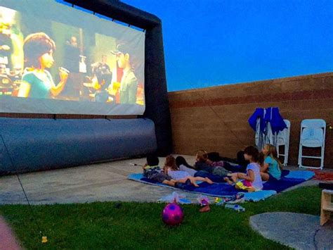 backyard movie projector rental best 20 inflatable movie screen rental ideas on pinterest