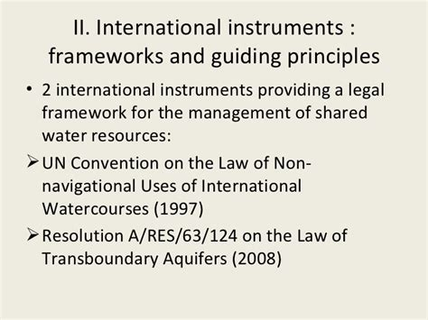 Trans Boundaries Financial Casein International Forum framework for transboundary water management raya stephan