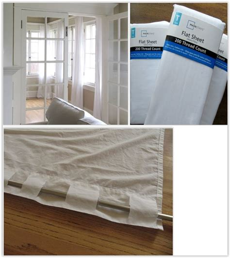 making curtains out of sheets 25 unique flat sheet curtains ideas on pinterest sheets