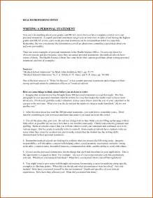 Personal Statement For College Template by Personal Statement Exles Sop Exle