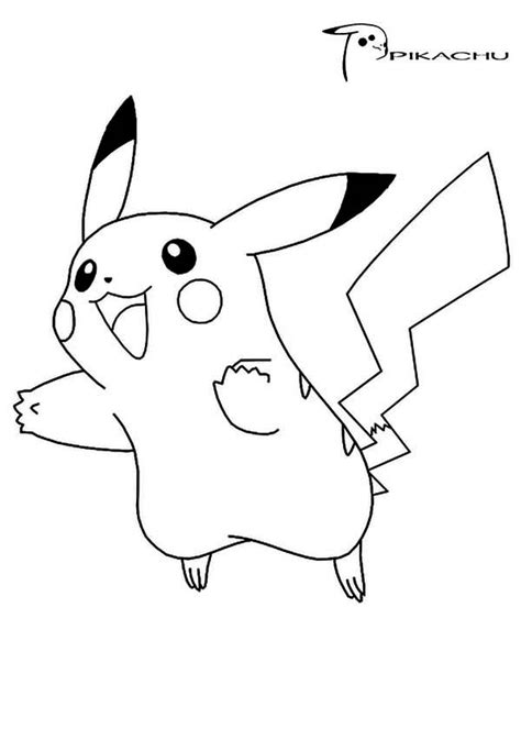 Coloring Page Pikachu by Pikachu Coloring Pages Free Printable Coloring Pages