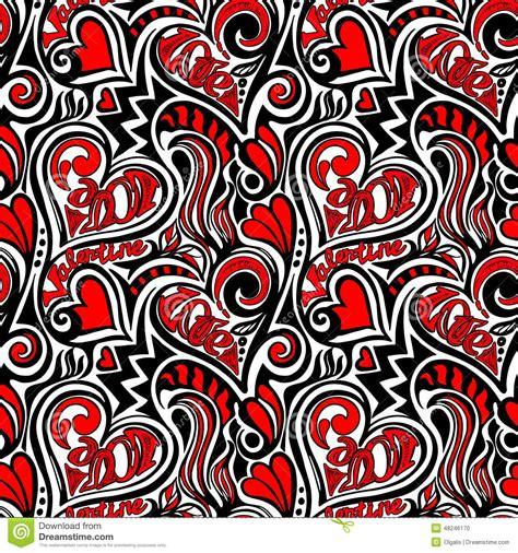 fabric pattern love love valentine seamless pattern stock vector image 48246170