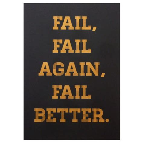fail better the lab