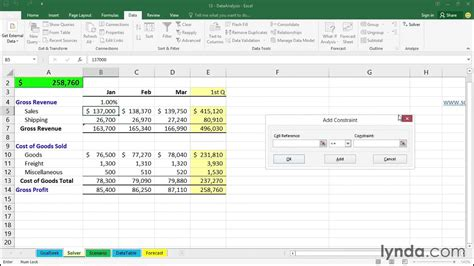 excel 2010 solver tutorial pdf 14 02 using solver how to excel 2016 tutorials