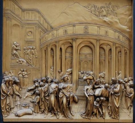 the doors of florence a photographic journey books the joseph panel of ghiberti s gates of paradise the