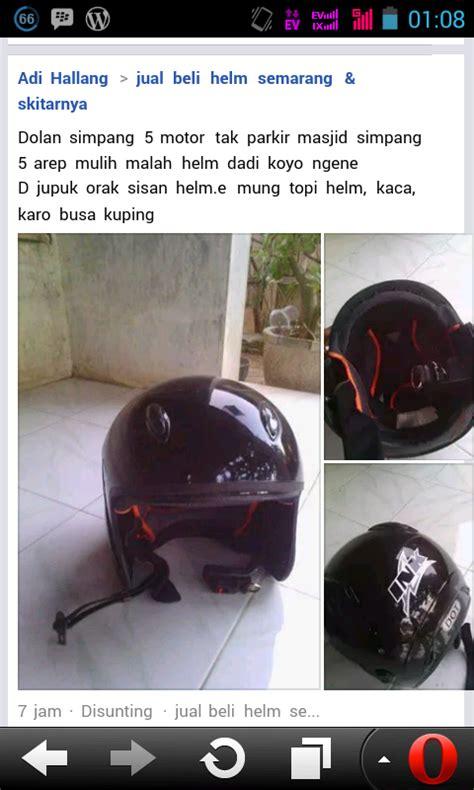 Helm Yang Ada Kacamatanya maling helm unik yang diambil bagian tertentu cxrider