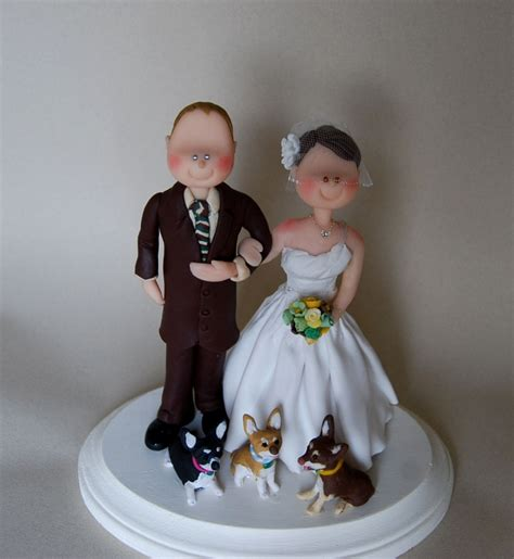 Handmade Wedding Cake Toppers - custom wedding cake topper idea in 2017 wedding