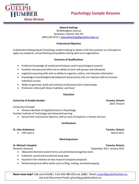 psychology resume template psychologist resume templates for free formtemplate
