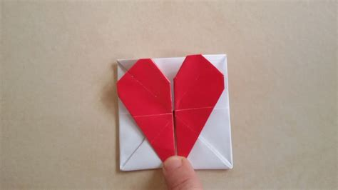Origami Secret - origami box with secret message caja coraz 243 n con