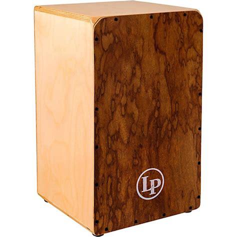 Akustik Drum Box Cajon open box lp americana series stage cajon regular 190839154538 musician s friend