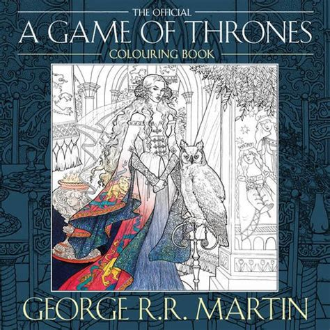 thrones coloring book guide a of thrones colouring book by voyager