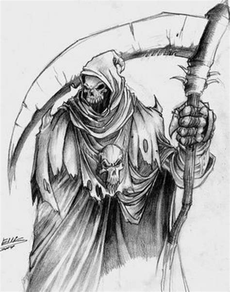 image grim reaper drawing jpg age of the fear wiki