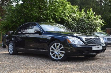 used caspian black maybach 57 for sale buckinghamshire