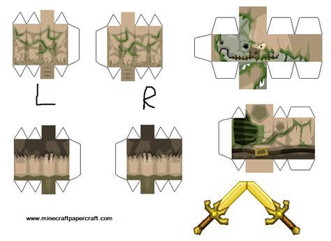 Minecraft Papercraft Pigman - papercraft pigman sphax