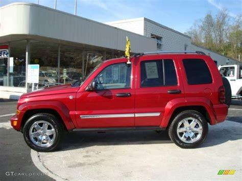 liberty colors 2006 blaze jeep liberty limited 4x4 8199327