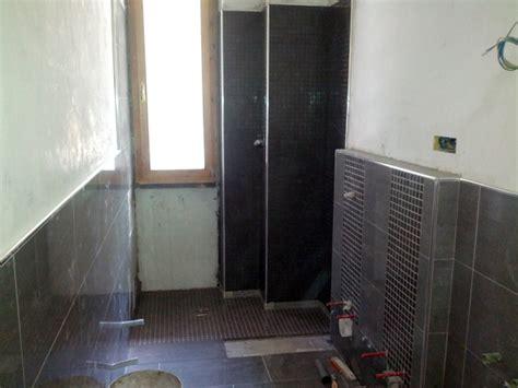 bagni con doccia a pavimento foto bagno con piatto doccia filo pavimento di la reale