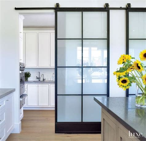 Interior Sliding Glass Barn Doors by Best 20 Glass Barn Doors Ideas On Barn Doors For Homes Diy Cottage Doors And Cabin