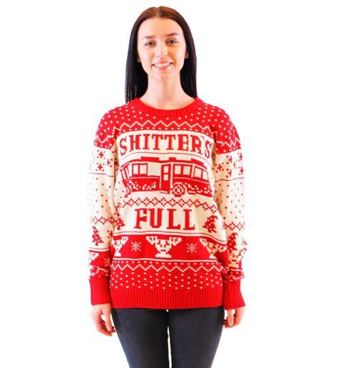easy diy ugly sweater  christmas godfather style