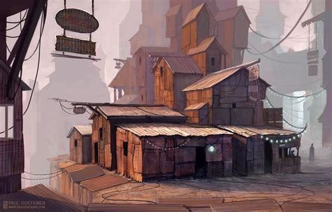 shanty town art google search industrial fallout