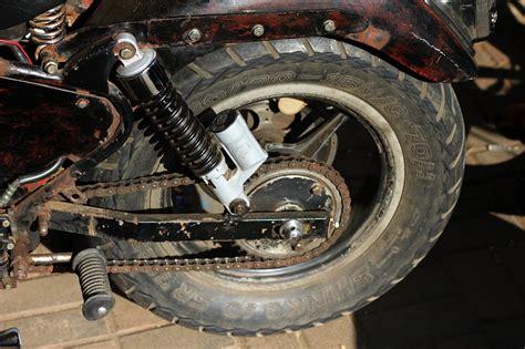 Motorrad Reifen Eckig Abgefahren by Bieten Extrem Mittig Abgenutzte Reifen Weniger Grip Bei