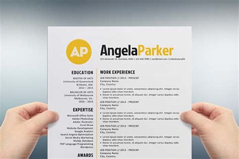 creative resume template microsoft word creative resume templates free for microsoft word