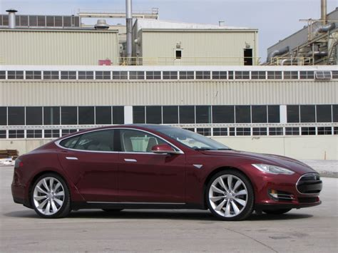 2012 Tesla Model S Image 2012 Tesla Model S Beta Vehicle Fremont Ca